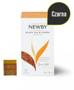 ❁ Black Tea & Ginger 25 szt ❁