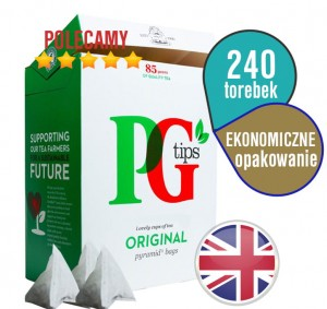 ♔ PG Tips Original 240 szt ♔